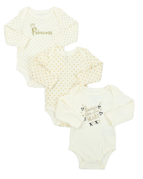Duck Duck Goose - 3 Pack Creepers Set (Infant)