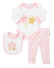 Duck Duck Goose - 3 Piece Knit Set W/ Bib (Infant)-2410719