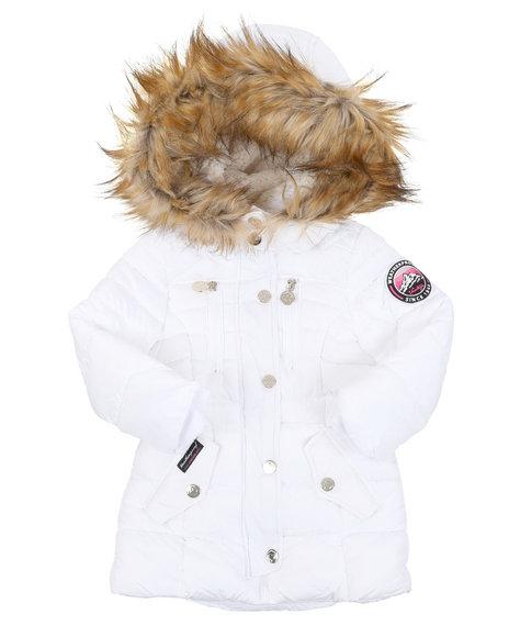Weatherproof - Parka Puffer Jacket (2T-4T)
