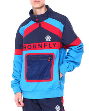 Born Fly - Colorblock Windbreaker-2413204
