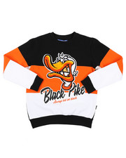 Sweatshirts & Sweaters - Fleece Crew Neck W/ Patch (8-20)-2411487