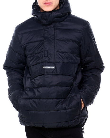 Members Only - QUILTED PUFFER ANORAK
