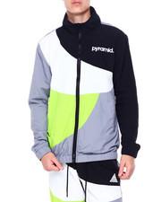 Black Pyramid - Circles Zip up Jacket-2413312
