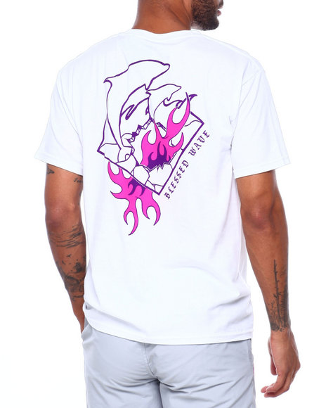 Pink Dolphin - BLESSED WAVE TEE