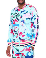 Track Jackets - JAPANESE GARDEN TRACK TOP-2413868