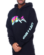 Pink Dolphin - BEACH LIFE HOODIE-2413829