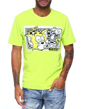 T-Shirts - Trippy Tom and Jerry Shirt-2414259