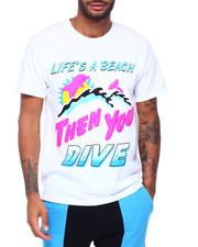 Pink Dolphin - BEACH LIFE TEE-2413726