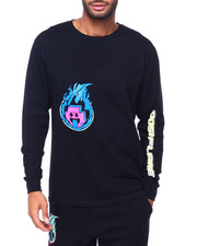 Pink Dolphin - FUEL FOR FIRE L/S TEE-2413671