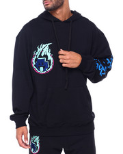 Pink Dolphin - FUEL FOR FIRE HOODIE-2413848