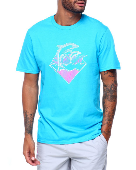 Pink Dolphin - WAVECLUB GRID TEE