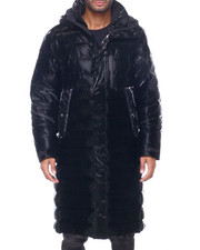 KARL LAGERFELD PARIS - Long Puffer Coat-2412064