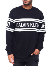 Athleisure for Men - CK LOGO LS KNIT-2411330