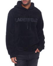 BLVCK - Double Face Sherpa Logo Hoodie-2412558