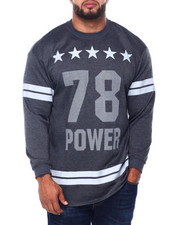 Pullover Sweatshirts - Men's French Terry Graphic Pullover (B&T)-2412940