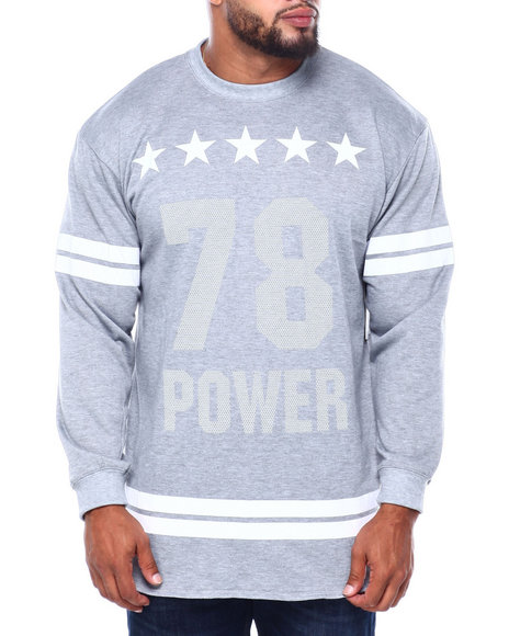 Buyers Picks - Men's French Terry Graphic Pullover (B&T)