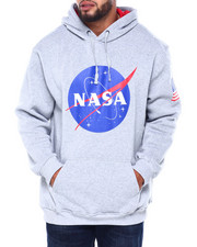 Big & Tall - Nasa Fleece Hoodie (B&t)-2413003