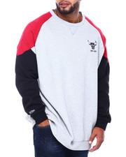 Mitchell & Ness - Bulls L/S Fleece Crew (B&T)-2413428