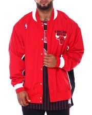 Mitchell & Ness - Bulls Nylon Jacket (B&T)-2412179