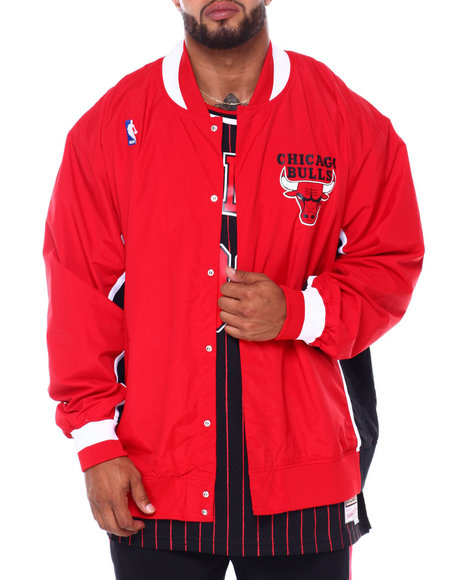 Mitchell & Ness - Bulls Nylon Jacket (B&T)