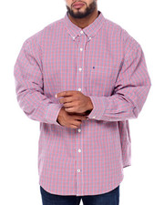 Izod - L/S Premium Essentials Tattersal Woven (B&T)-2414642