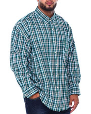 Izod - L/S Premium Essentials Plaid Woven (B&T)-2414688
