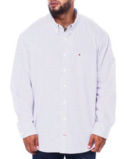 Izod - L/S Premium Essentials Tattersal Woven (B&T)-2414659