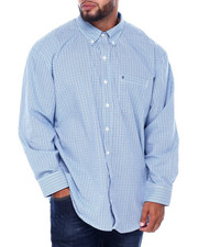 Izod - L/S Premium Essentials Check Woven (B&T)-2414237