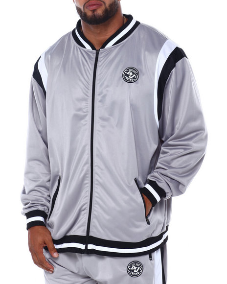 Buyers Picks - Tricot Zip Front Retro Jacket Signature Logo (B&T)