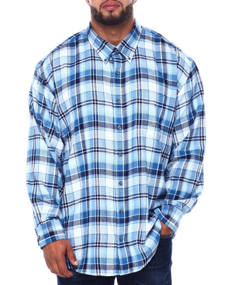 Izod - L/S Flannel Shirt (B&T)