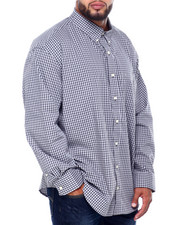Izod - L/S Premium Essentials Gingham Woven (B&T)-2414577