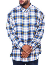 Izod - L/S Flannel Shirt (B&T)-2414151