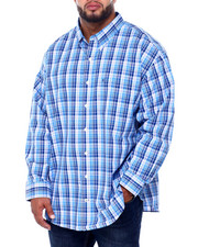 Izod - L/S Premium Essentials Plaid Woven (B&T)-2414676
