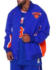 Mitchell & Ness - Knicks Nylon Jacket (B&T)-2412188