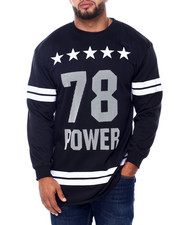 Sweatshirts & Sweaters - Men's French Terry Graphic Pullover (B&T)-2413415