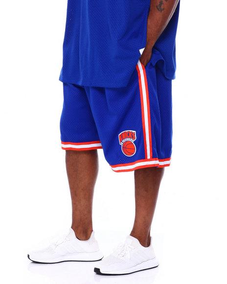 Mitchell & Ness - Knicks Swingman Shorts (B&T)
