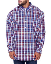 Izod - L/S Premium Essentials Plaid Woven (B&T)-2414684