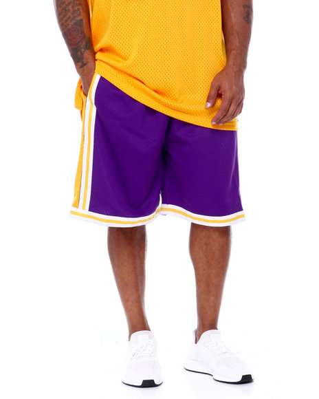 Mitchell & Ness - Lakers Swingman Shorts (B&T)