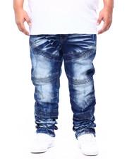 Jeans - Color Paint Splash Denim Pants (B&T)-2406686
