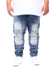 Jeans - Moto Jean W/ Knee Treatment (B&T)-2411630