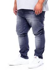 Big & Tall Faves - 5 Pocket Straight Fit Stretch Jeans (B&T)-2411611