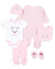 Girls - 7 Piece Print Gift Set (Infant)-2410583