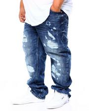 Big & Tall Faves - Denim Jean W/Destruction (B&T)-2406810