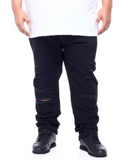 Jeans - Twill With Rip & Crinkle (B&T)-2406937