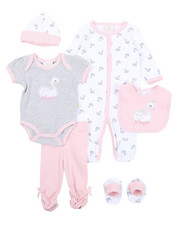 Girls - 7 Piece Print Gift Set (Infant)-2410574