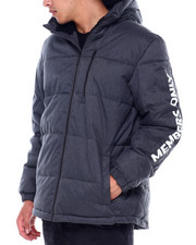 Members Only - QUILTED HOODED PUFFER JACKET W SLEEVE HIT-2414193