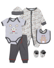 Duck Duck Goose - 7 Piece Print Gift Set (Infant)-2410570