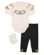 Girls - 3 Piece Knit Set (Infant)-2408206