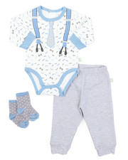 Sets - 3 Piece Dress Up Set W/ Socks (Infant)-2410707