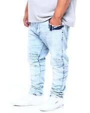 Jeans - Moto Jean W/ Knee Treatment (B&T)-2411635